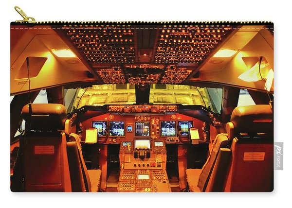 Boeing 747 Flight Deck Carry-all Pouch