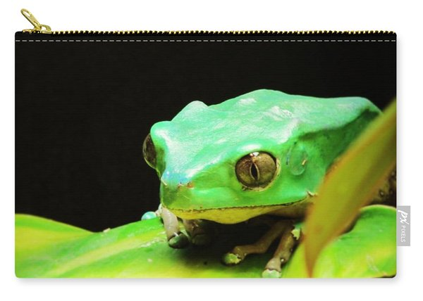 Feeling Froggy Carry-all Pouch