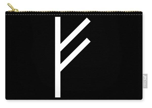 Fehu Rune Carry-all Pouch