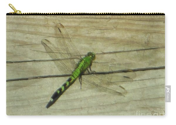 Female Eastern Pondhawk Dragonfly Carry-all Pouch