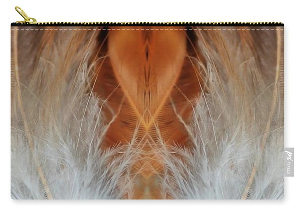 Female Feathers Carry-all Pouch