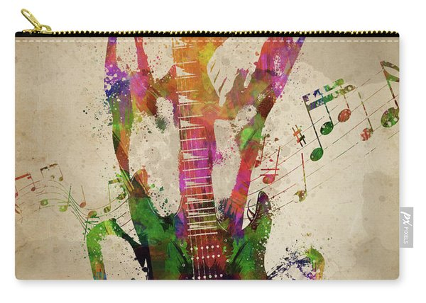 Female Guitarist Carry-all Pouch