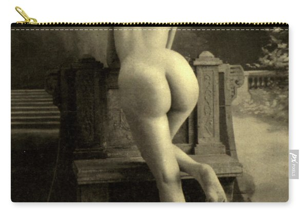 Female Nude, Circa 1900 Carry-all Pouch