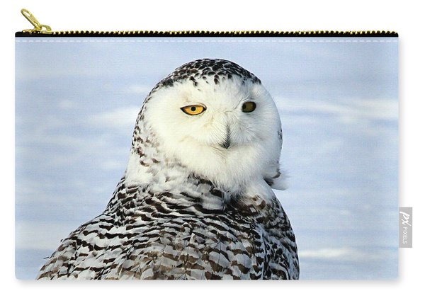 Female Snowy Owl Carry-all Pouch