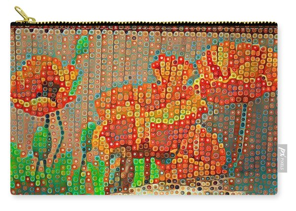 Fence Art Carry-all Pouch