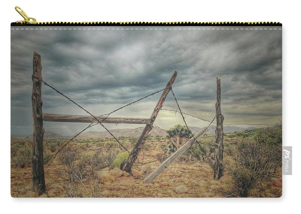 Fence Post Blues  Carry-all Pouch