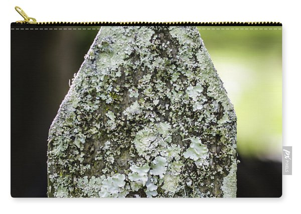 Fence With Moss Carry-all Pouch