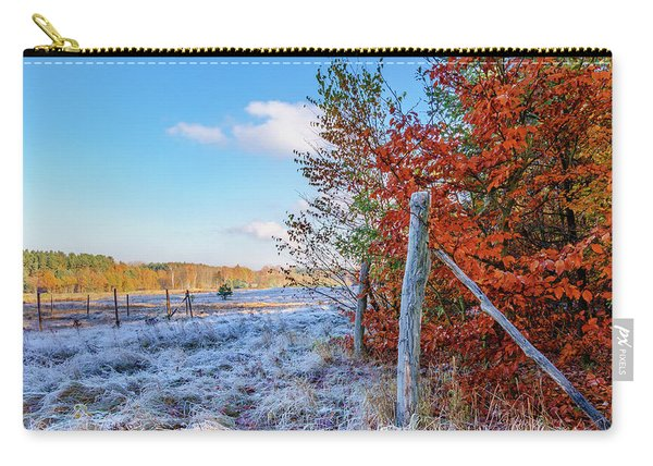 Fenced Autumn Carry-all Pouch