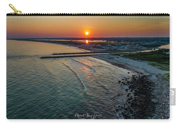 Fenway Beach Sunset Carry-all Pouch