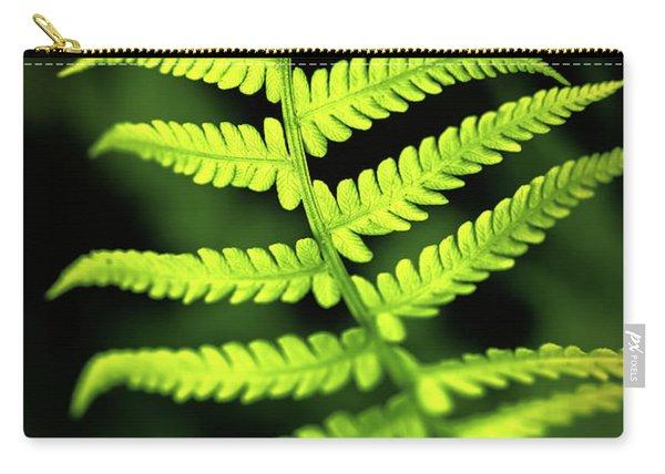 Fern Leaf Carry-all Pouch