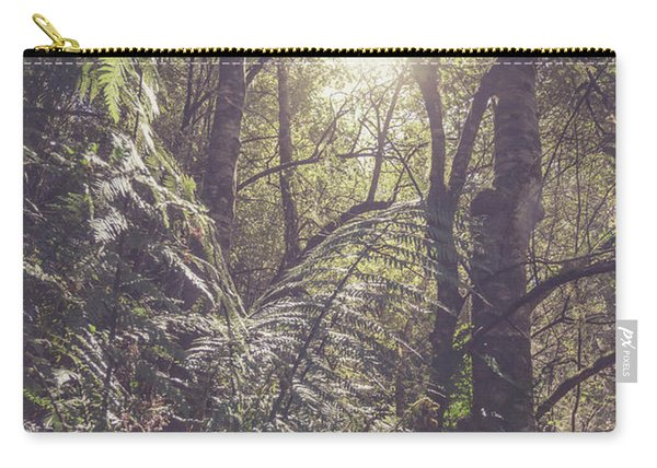 Ferns And Sunshine Carry-all Pouch