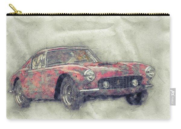 Ferrari 250gt Berlinetta 1 - Tour De France - Sports Car - Automotive Art - Car Posters Carry-all Pouch