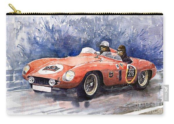 1953-1955 Ferrari 500 Mondial 1000 Miglia Carry-all Pouch