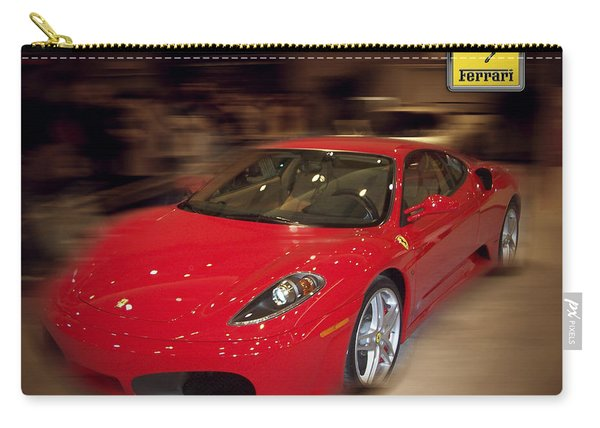 Ferrari F430 - The Red Beast Carry-all Pouch