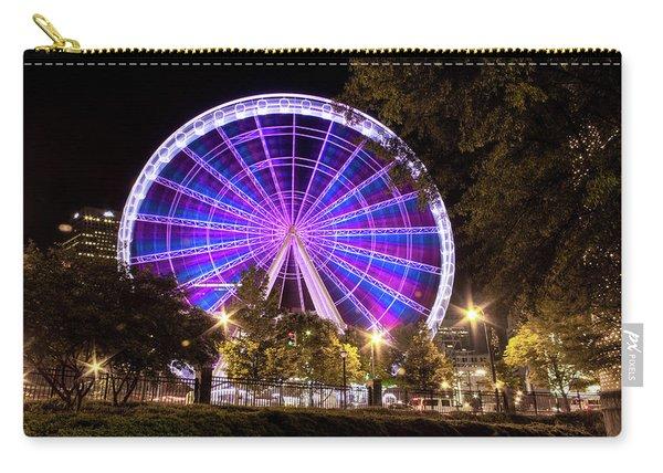 Ferris Wheel At Centennial Park 1 Carry-all Pouch