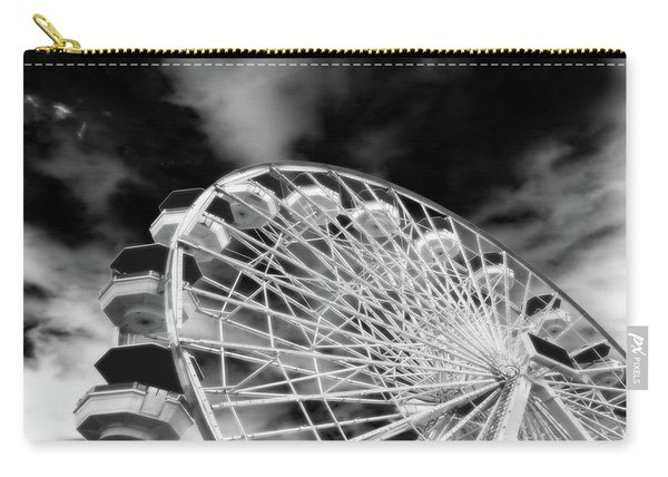Ferris Wheel Santa Monica Pier Carry-all Pouch