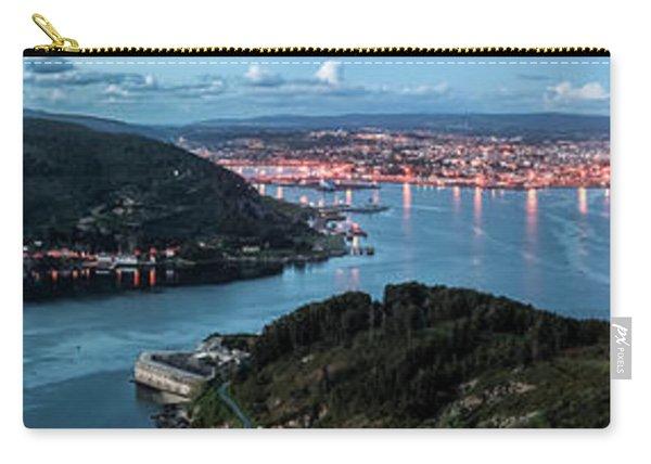 Ferrol's Estuary Panorama From La Bailadora Galicia Spain Carry-all Pouch