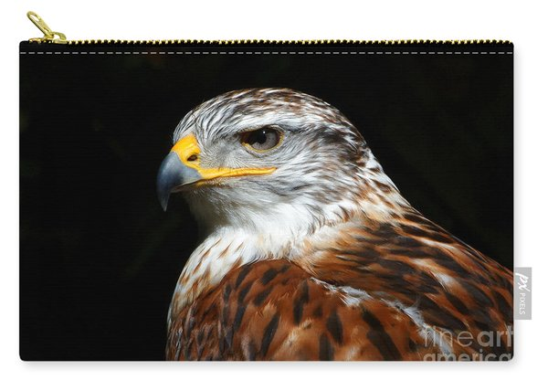 Ferruginous Hawk Portrait Carry-all Pouch