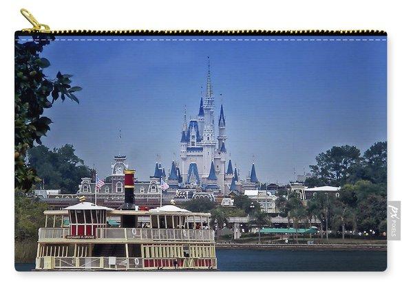 Ferry Boat Magic Kingdom Walt Disney World Mp Carry-all Pouch