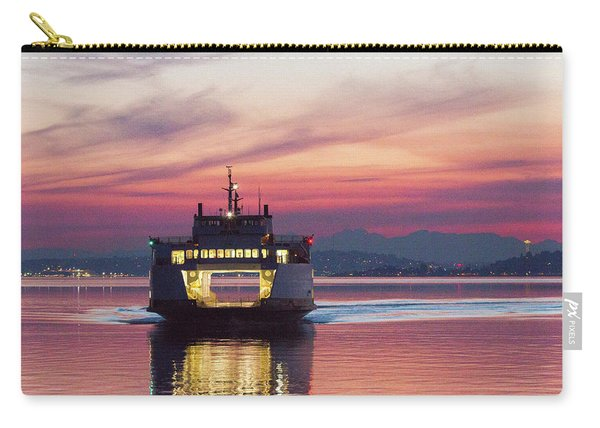 Ferry Issaquah Docking At Dawn Carry-all Pouch