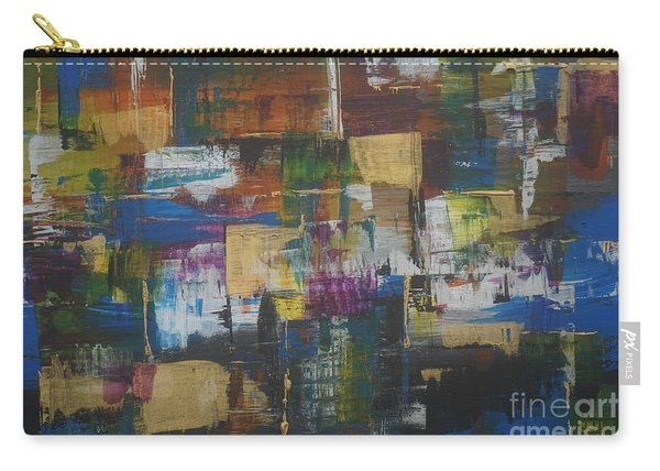 Carry-all Pouch featuring the painting Fever by Jimmy Clark