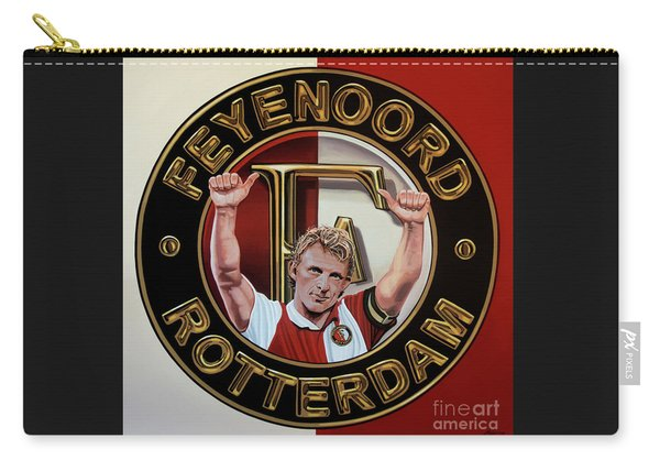 Feyenoord Rotterdam Painting Carry-all Pouch