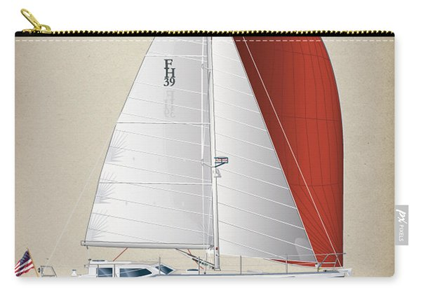 Fh 39 Sailboat Carry-all Pouch