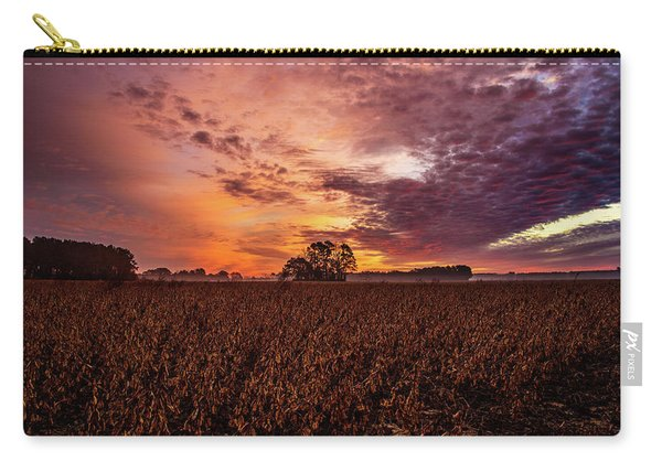 Field Of Beans Carry-all Pouch
