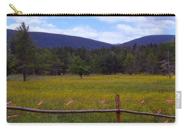 Field Of Dandelions Carry-all Pouch