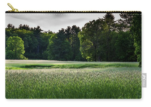 Field Of Green Carry-all Pouch