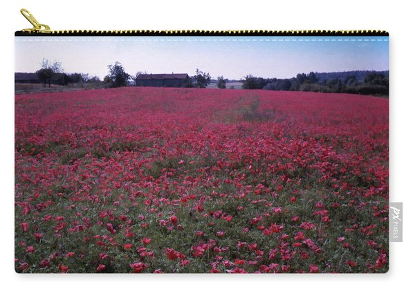 Field Of Poppies, France Carry-all Pouch