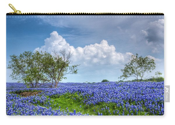 Field Of Texas Bluebonnets Carry-all Pouch