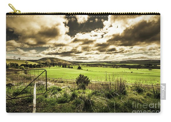 Fields Of Dynamic Range Carry-all Pouch