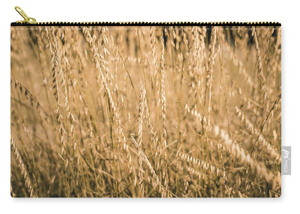 Carry-all Pouch featuring the photograph Fields Of Gold by Allin Sorenson