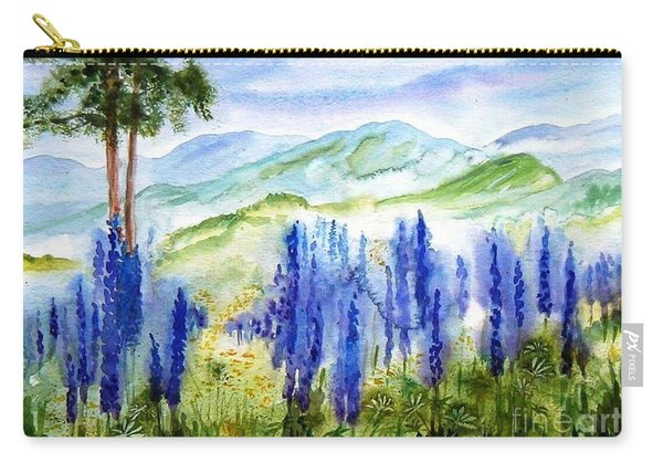 Fields Of Lupines Carry-all Pouch