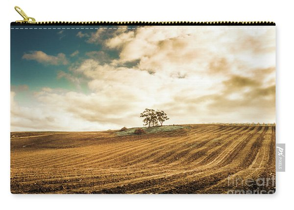 Fields Of Tasmanian Agriculture Carry-all Pouch