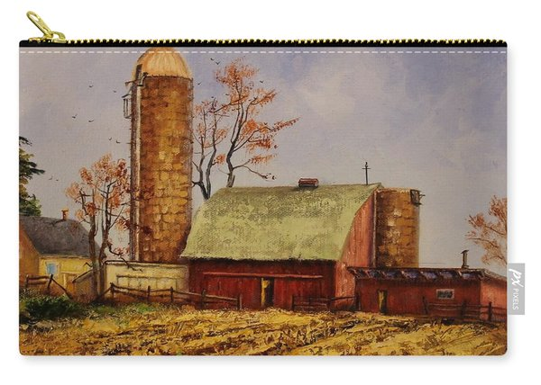 Fields Ready For Fall Carry-all Pouch