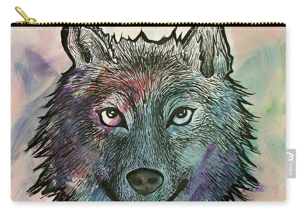Fierce And Wise Carry-all Pouch