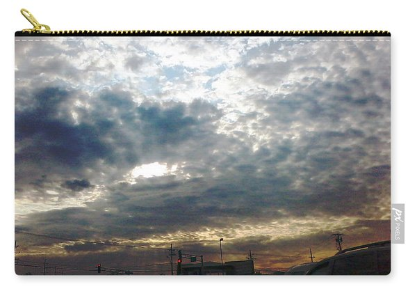 Fierce Skies Carry-all Pouch