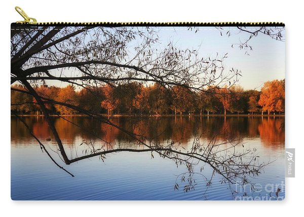 Fiery Colors On The Lake Carry-all Pouch