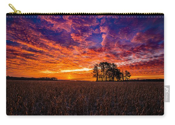 Fiery Dawn At Center Grove Carry-all Pouch