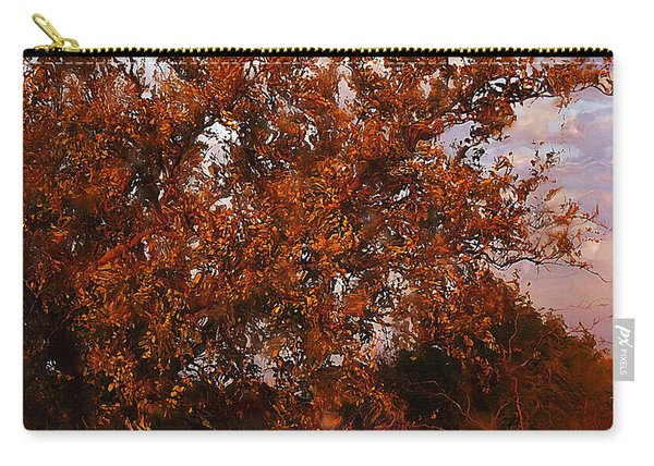 Fiery Elm Tree  Carry-all Pouch