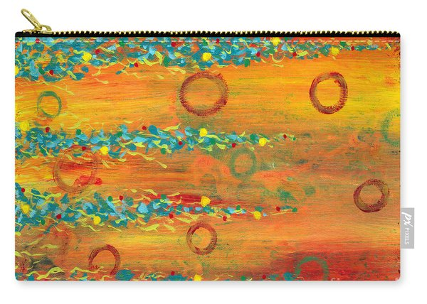 Fiesta Painting Carry-all Pouch