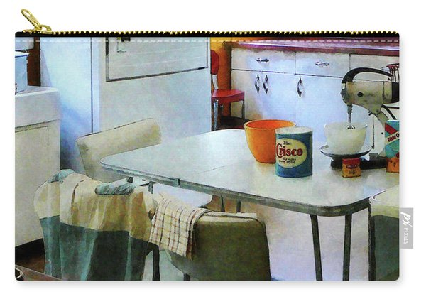 Fifties Kitchen Carry-all Pouch