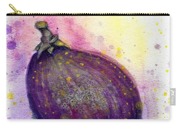 Carry-all Pouch featuring the painting Fig by Ashley Kujan