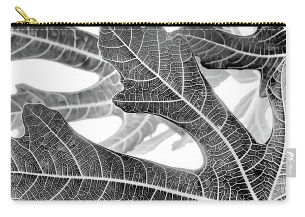 Fig Leaf Abstract Carry-all Pouch