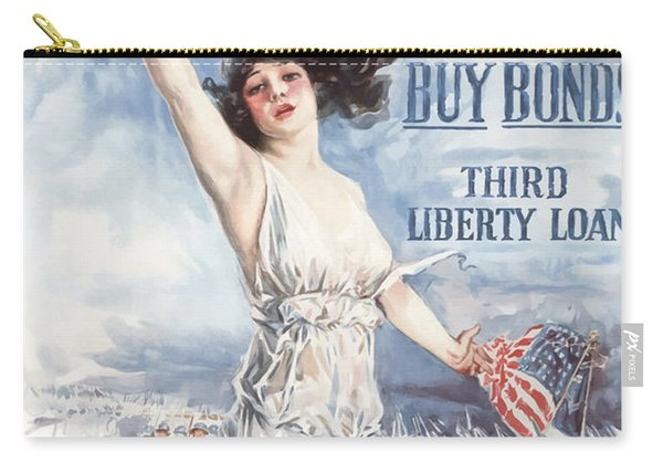 Fight Or Buy Bonds Carry-all Pouch