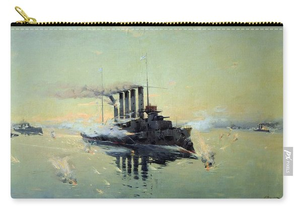 Fighting On July In The Yellow Sea Carry-all Pouch
