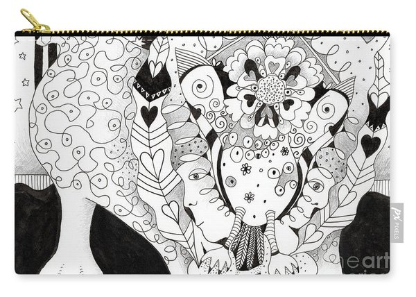 Figments Of Imagination - The Beast Carry-all Pouch
