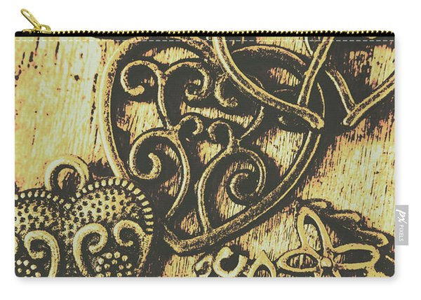 Filigree Love Carry-all Pouch